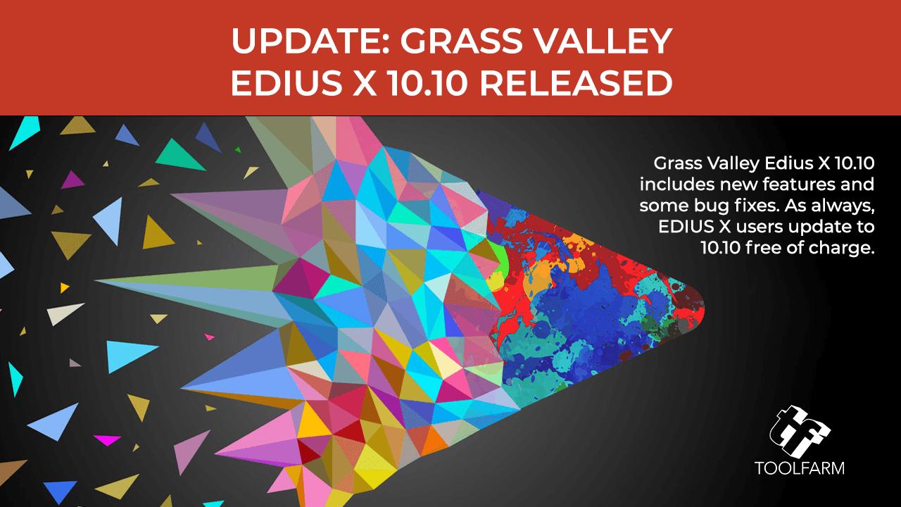 Edius X 10.10