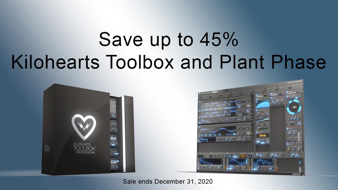 kilohearts year end sale