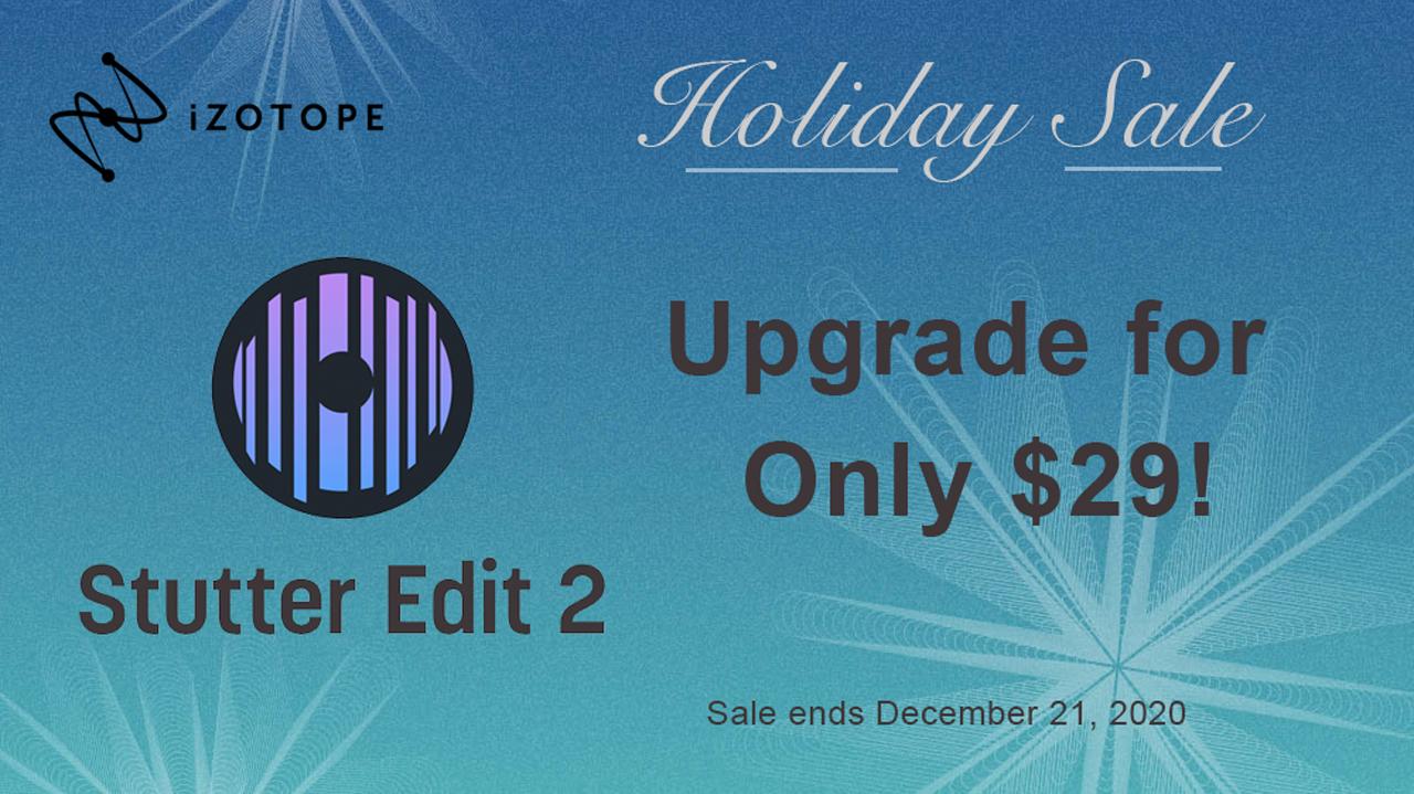 izotope stutter edit upgrade sale