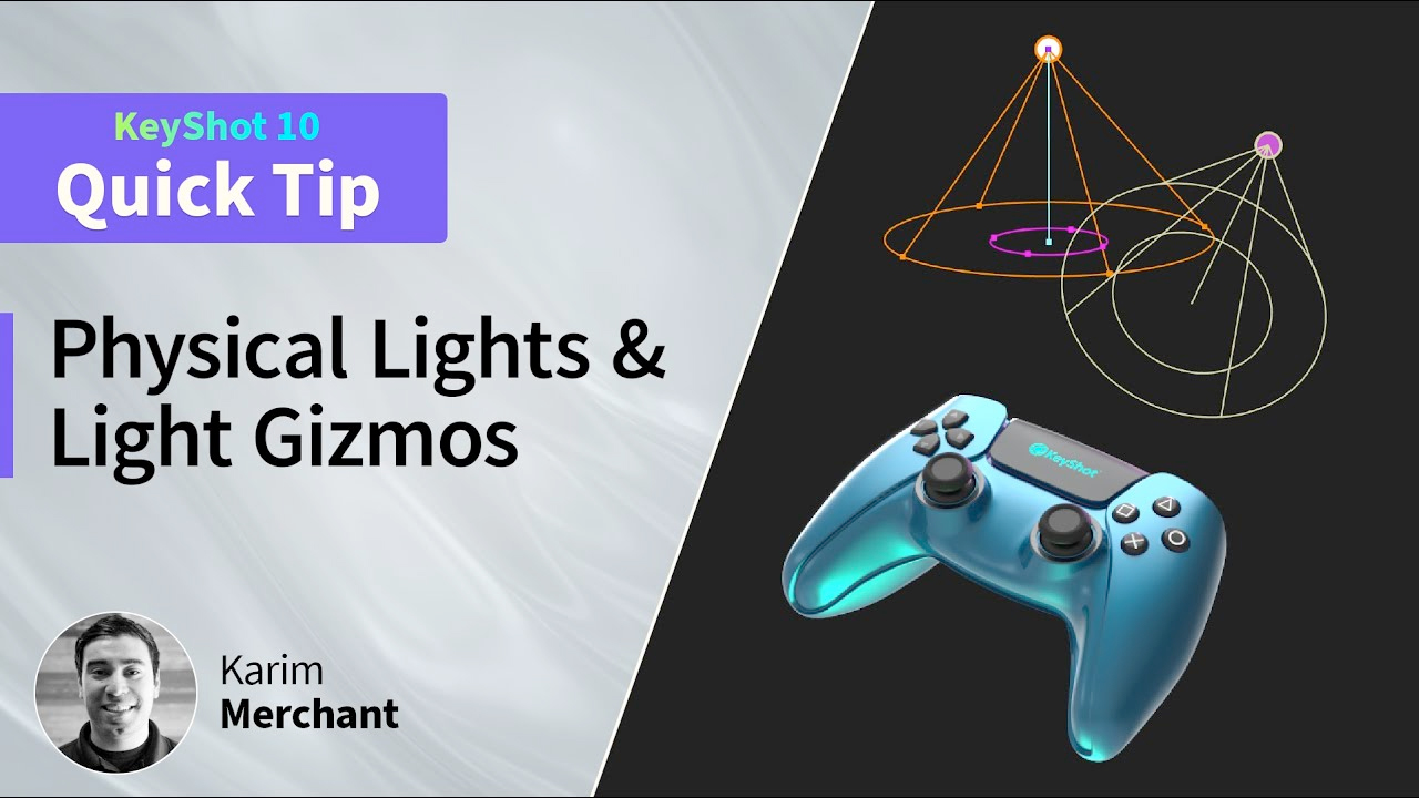 keyshot light tutorial