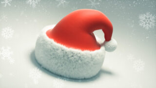 Free Santa Hat model