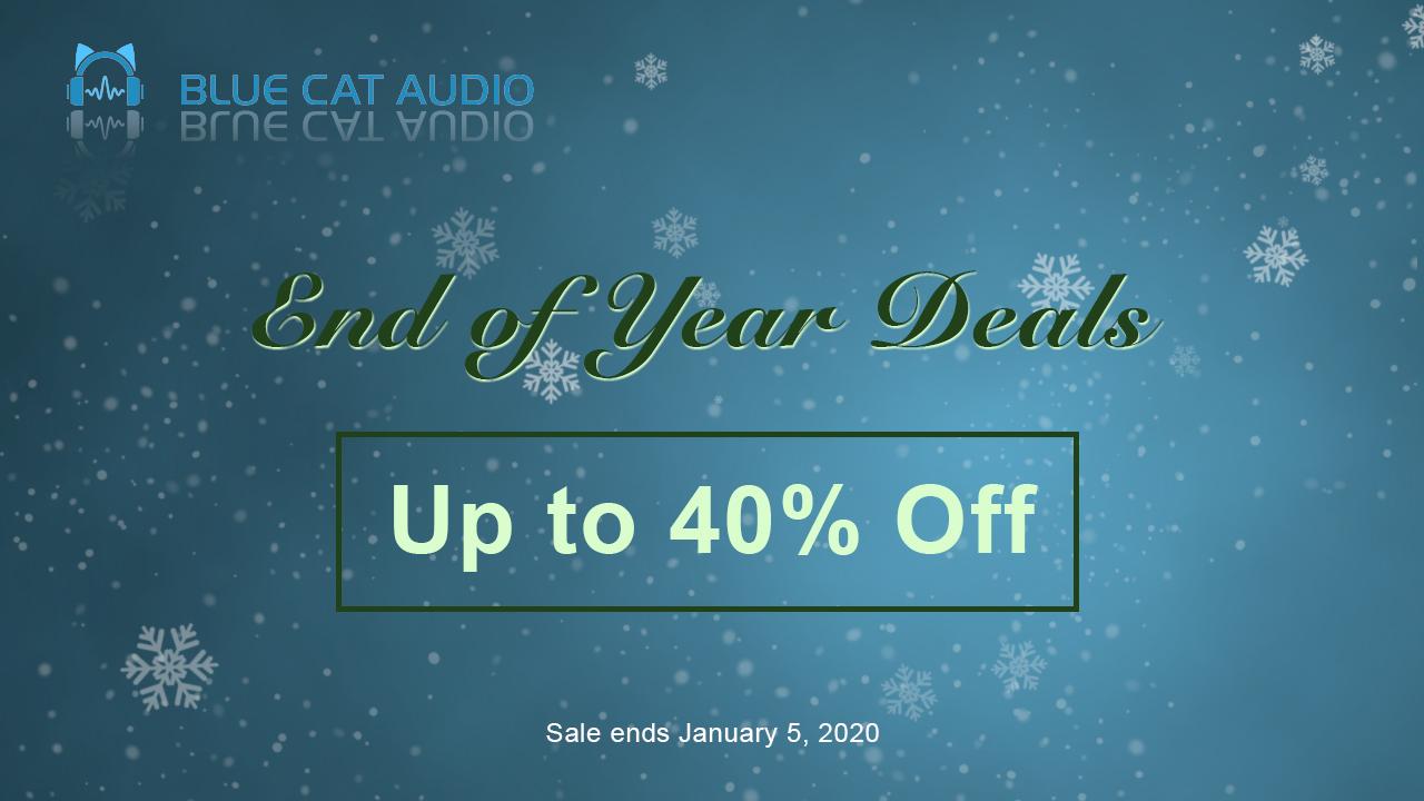 blue cat audio year end sale