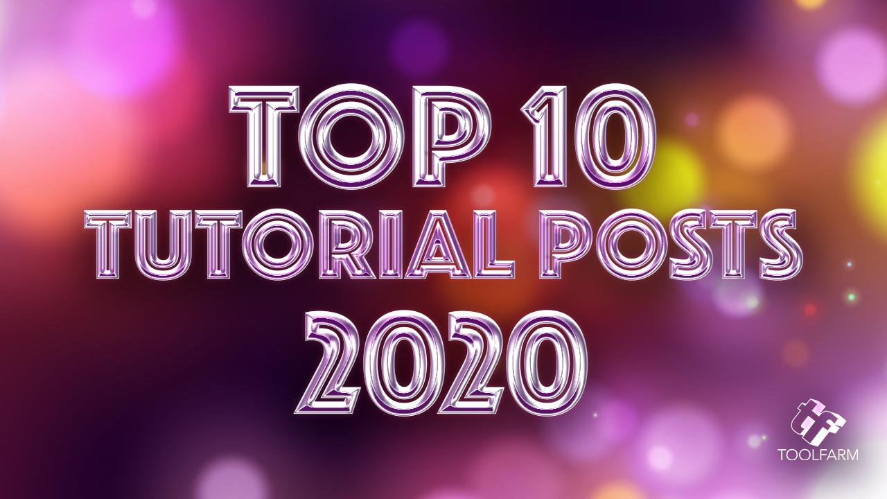 top 10 tutorial posts 2020