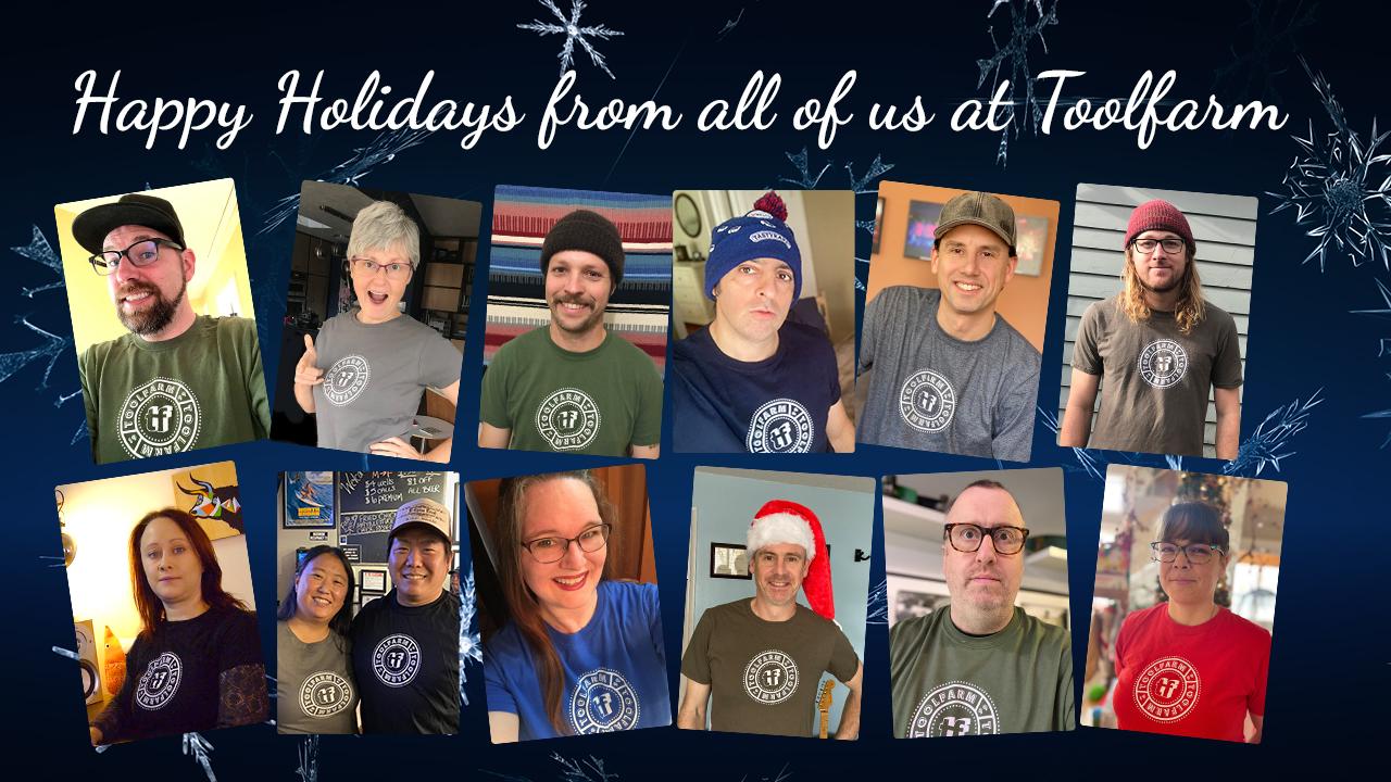 Toolfarm Holiday Greetings 2020