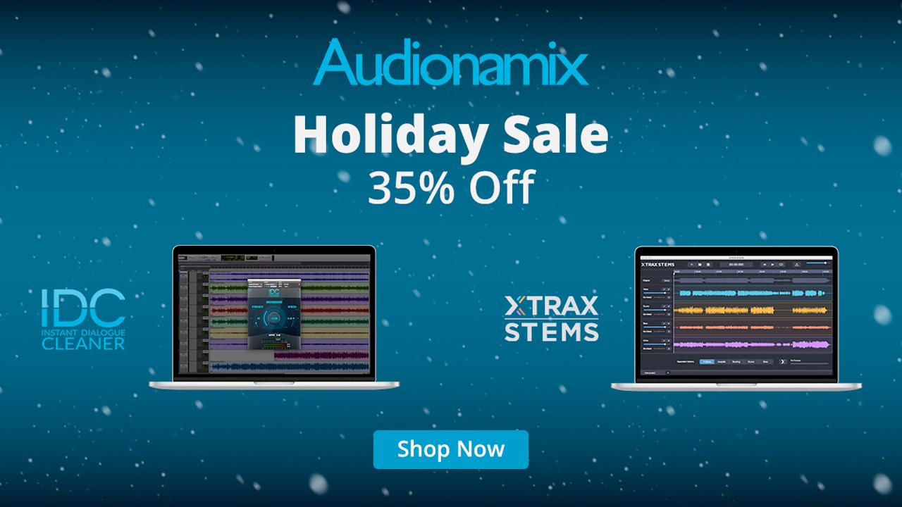 audionamix holiday sale