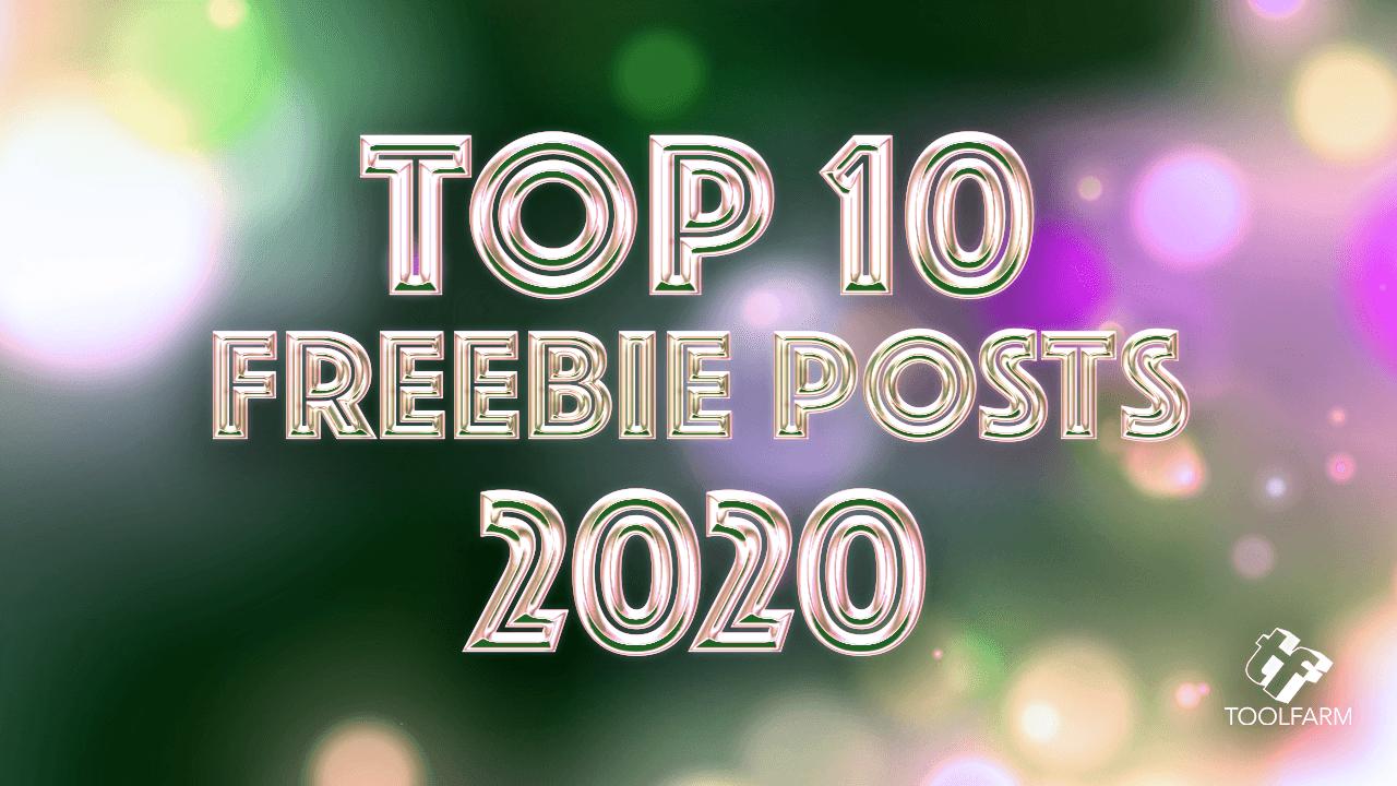 Top 10 Freebie Posts of 2020