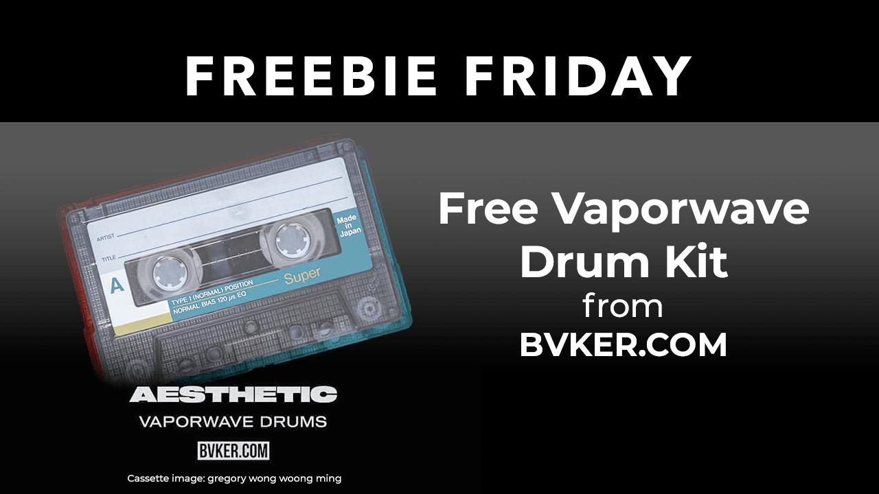 Freebie Aesthetic Vaporware Drum Kit from BVKER