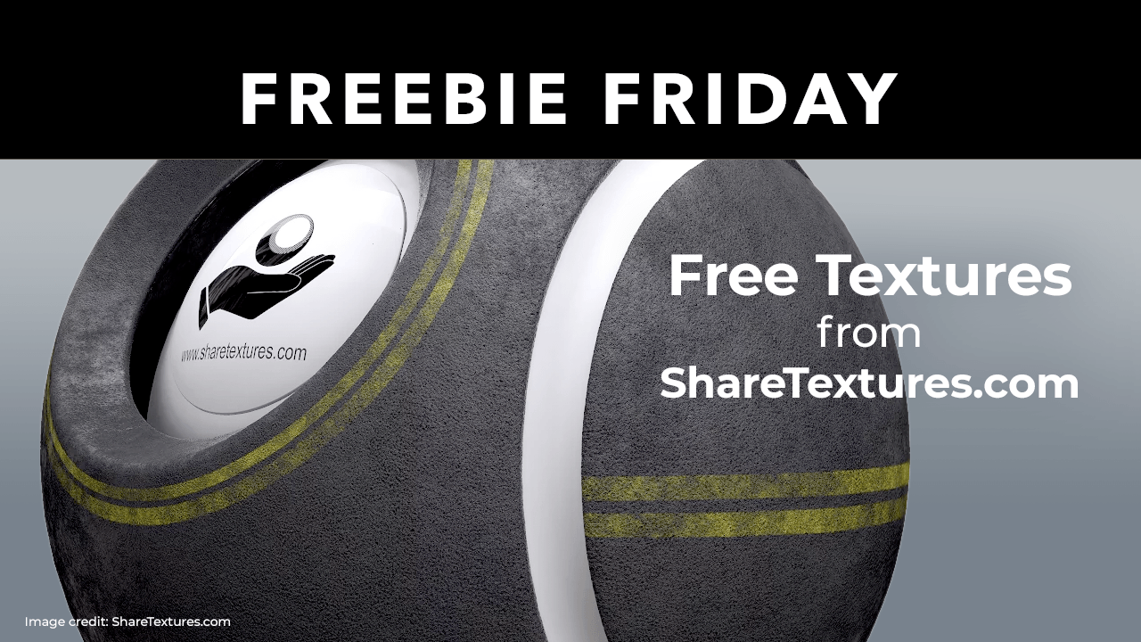Freebie: Share Textures Free Textures for your 3D Projects
