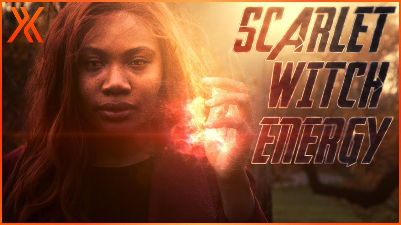 Scarlet Witch Energy Powers with HitFilm