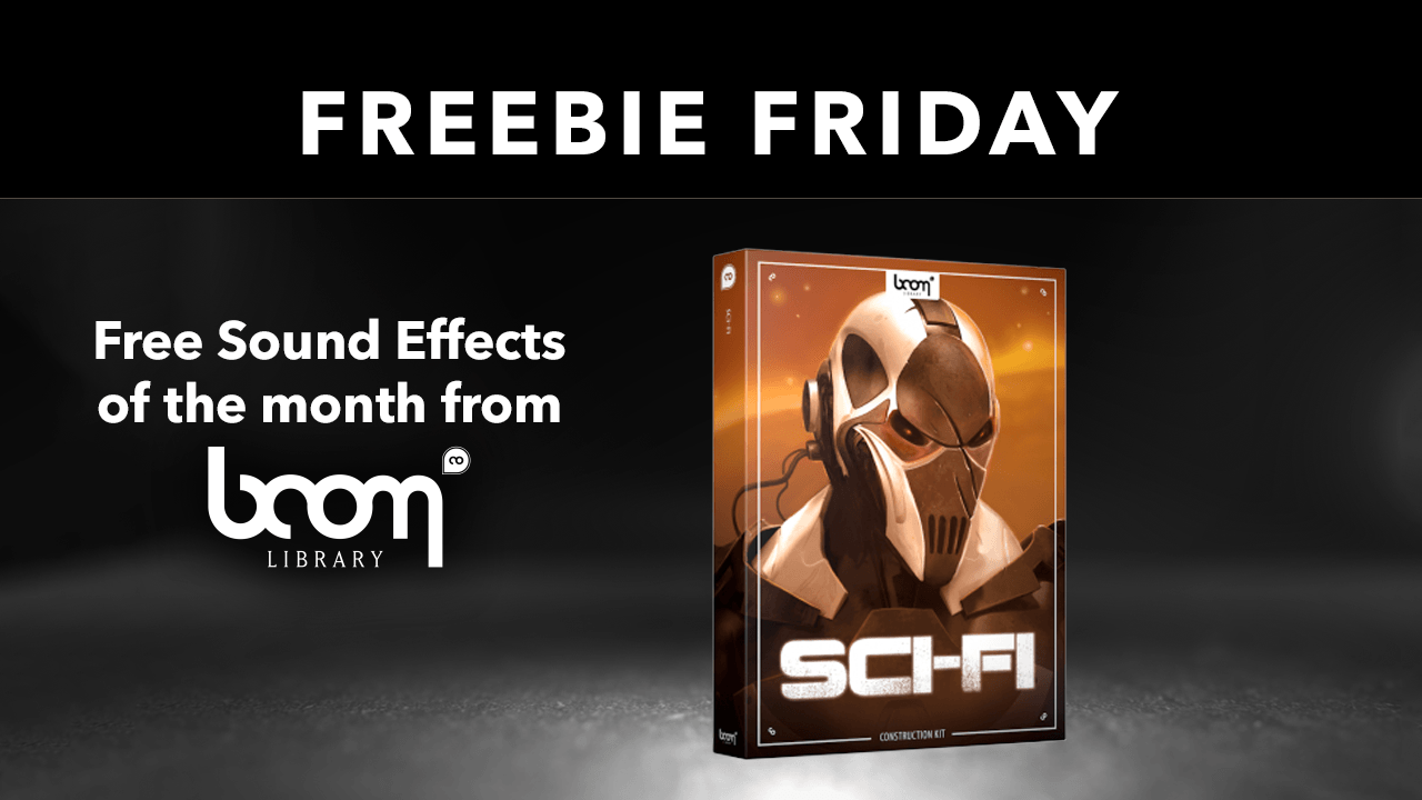 Freebie: SCI-FI, Boom Library Free Sound Effects