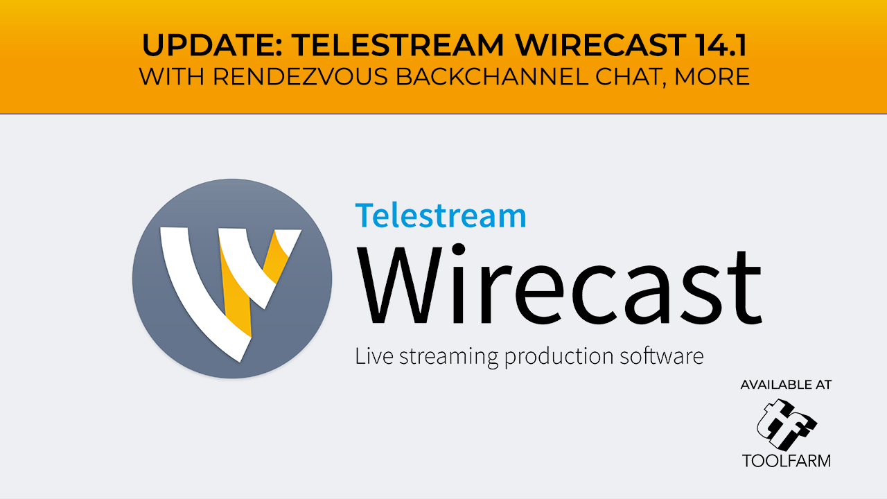 Telestream Wirecast 14.1