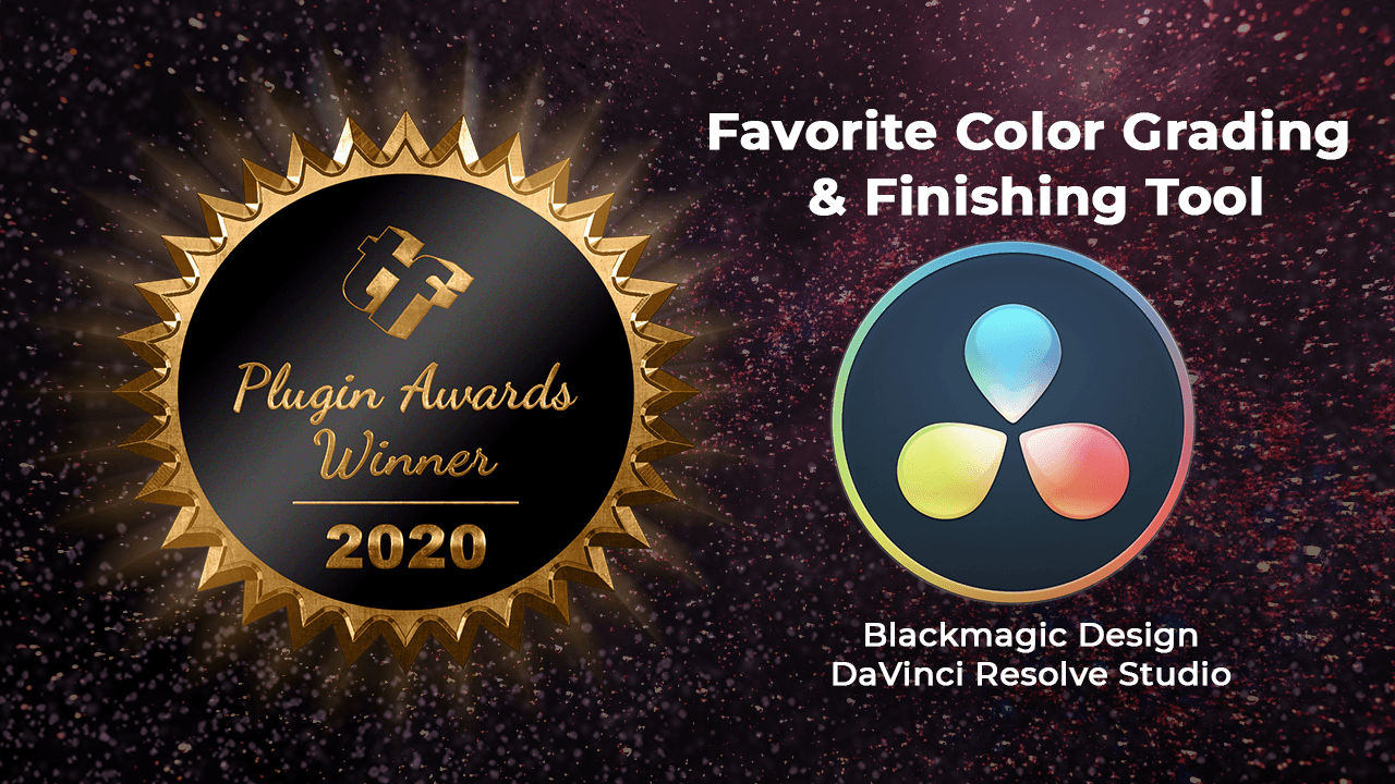Toolfarm Plugin Awards 2020 : Favorite Color Grading and Finishing Tool
