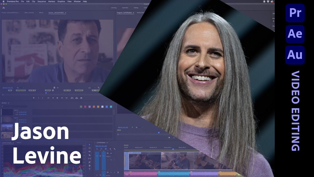 Editing & Assembling a Project in Adobe Premiere Pro