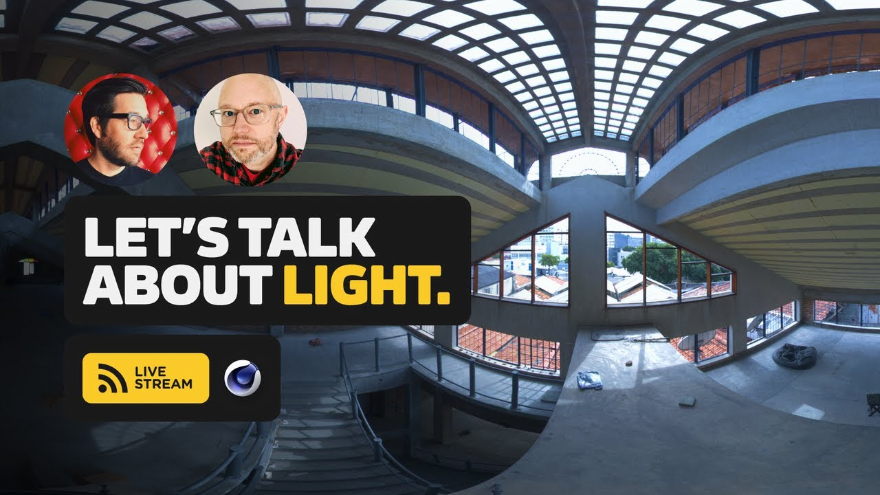 How To Create Great Lighting in Cinema 4D - Live Show Q&A