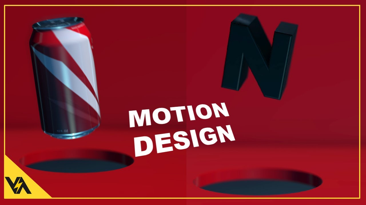 Motion Graphics in Element 3D with a Soft Drink Can
