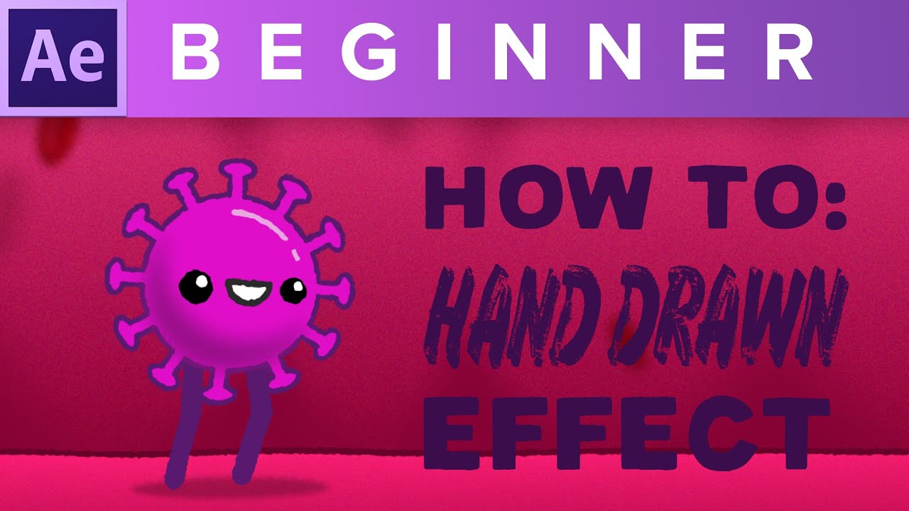 Create the hand drawn style in After Effects 2020