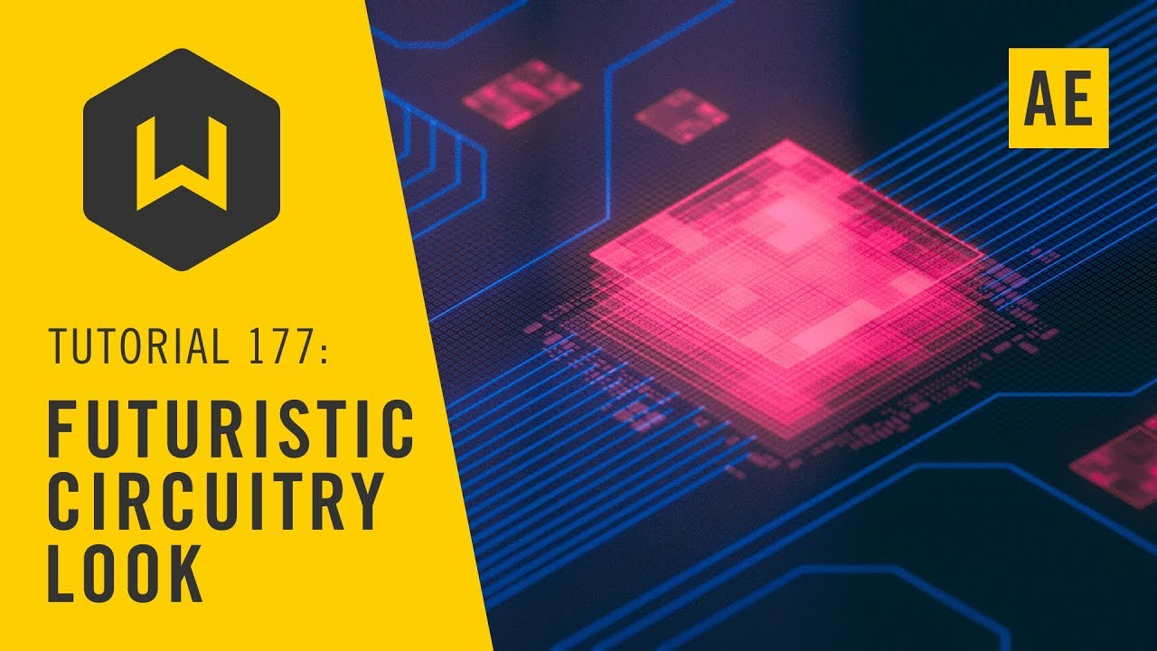 How to make a Futuristic Circuitry Look in After Effects