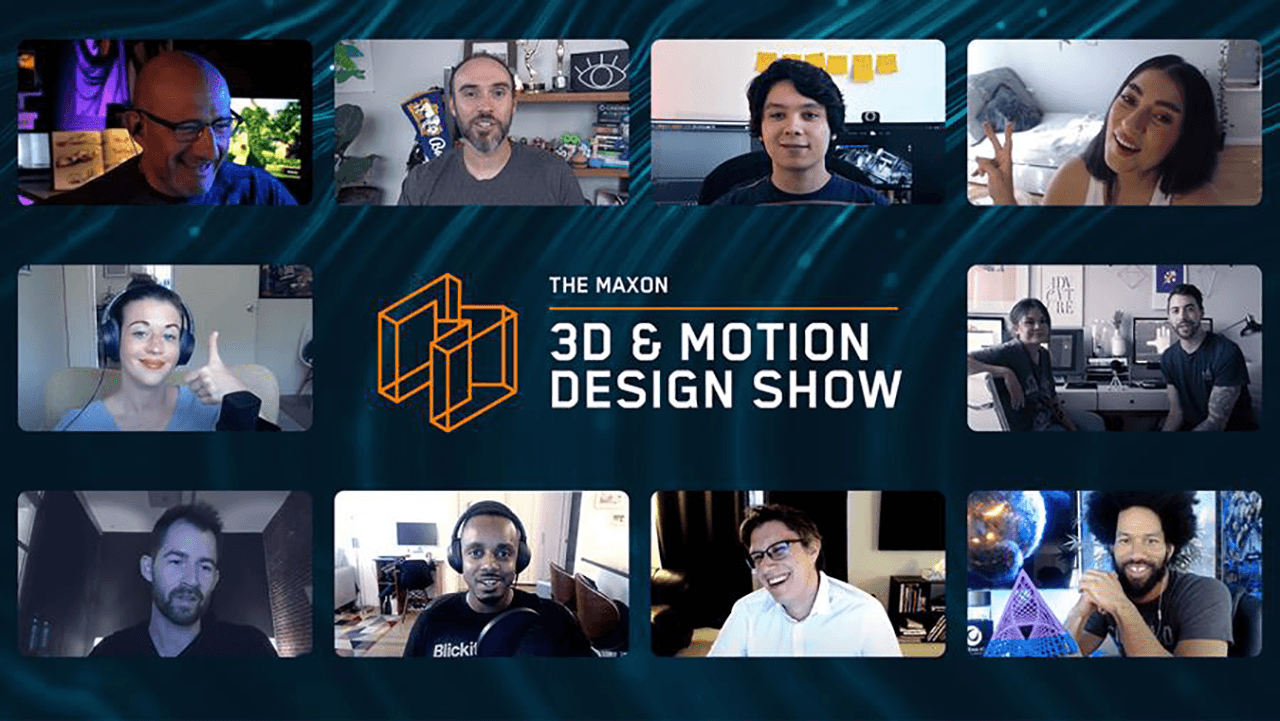 News: Maxon's 3D & Motion Design Show Schedule