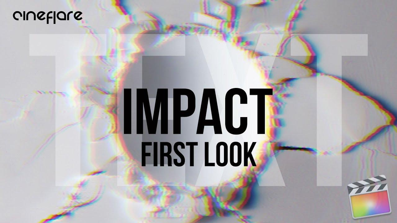 cineflare impact text tut