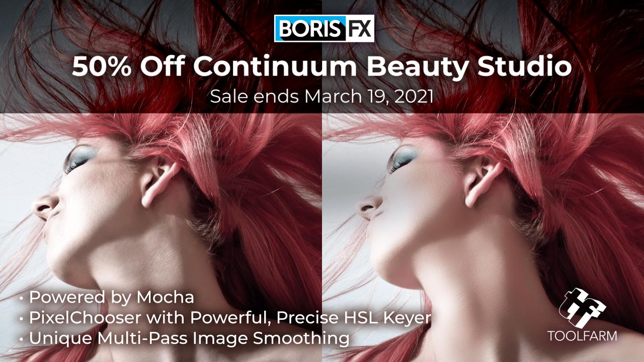 beauty studio 50% off