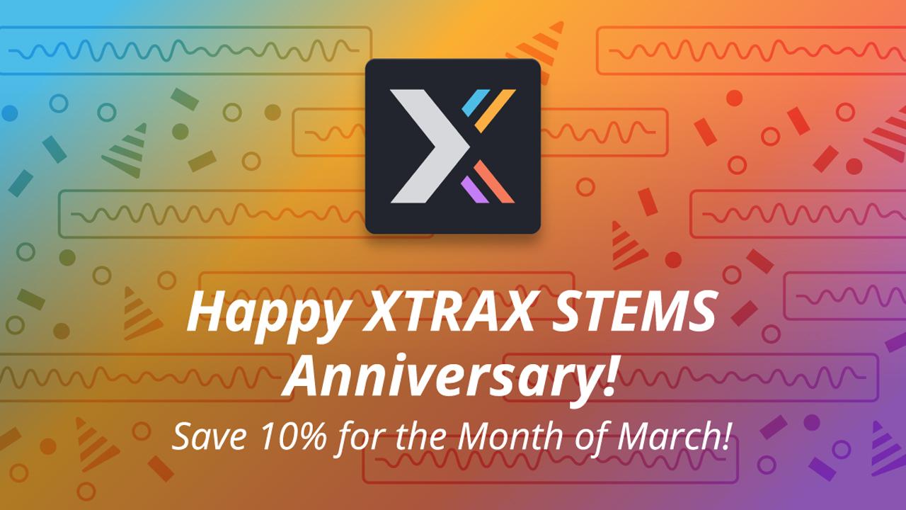 audionamix xtrax stems 10% off