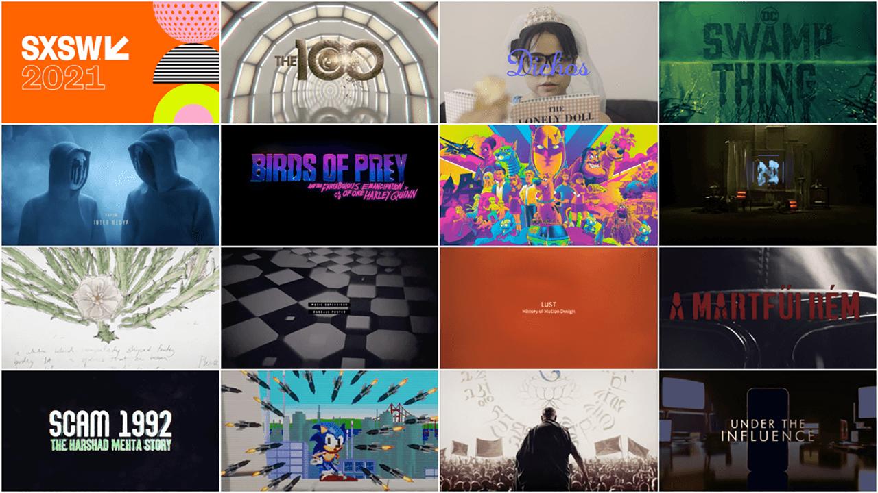SXSW 2021 Film Awards: Title Design Finalists