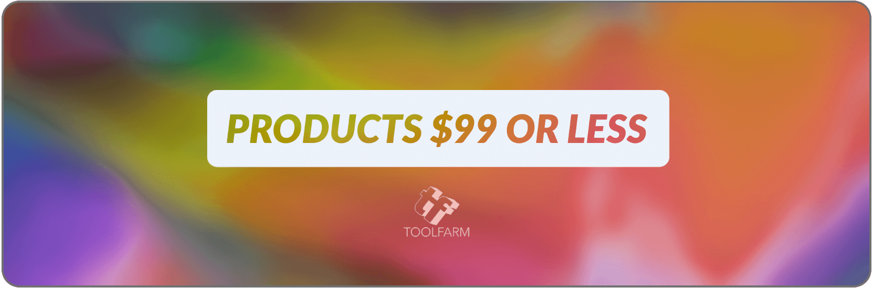 products $99 or less