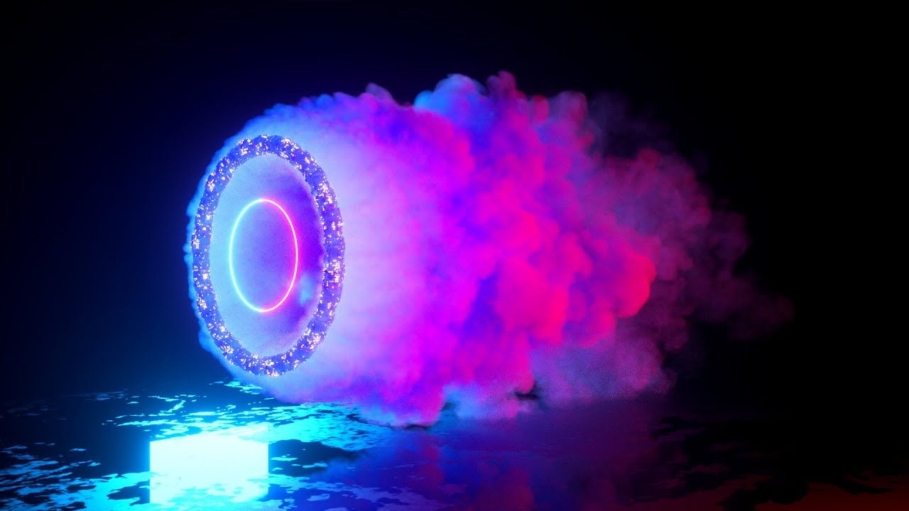 Colorful Smoke with Cinema 4D, TurbulenceFD, & Octane Render