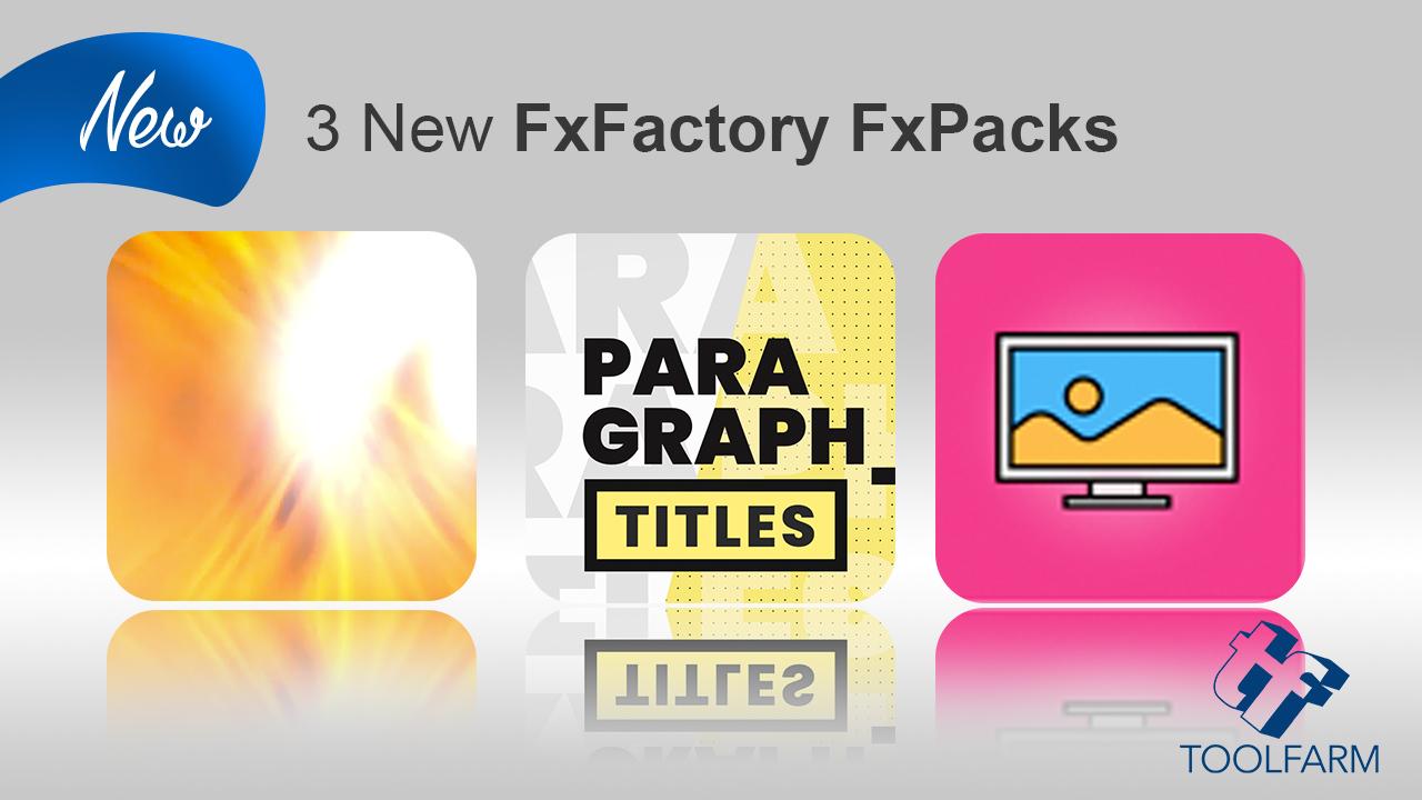 3 new fxfactory