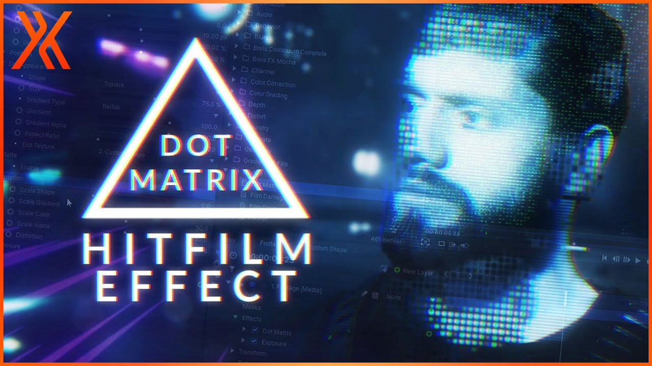 Dot Matrix | Futuristic Video Glitch Effects