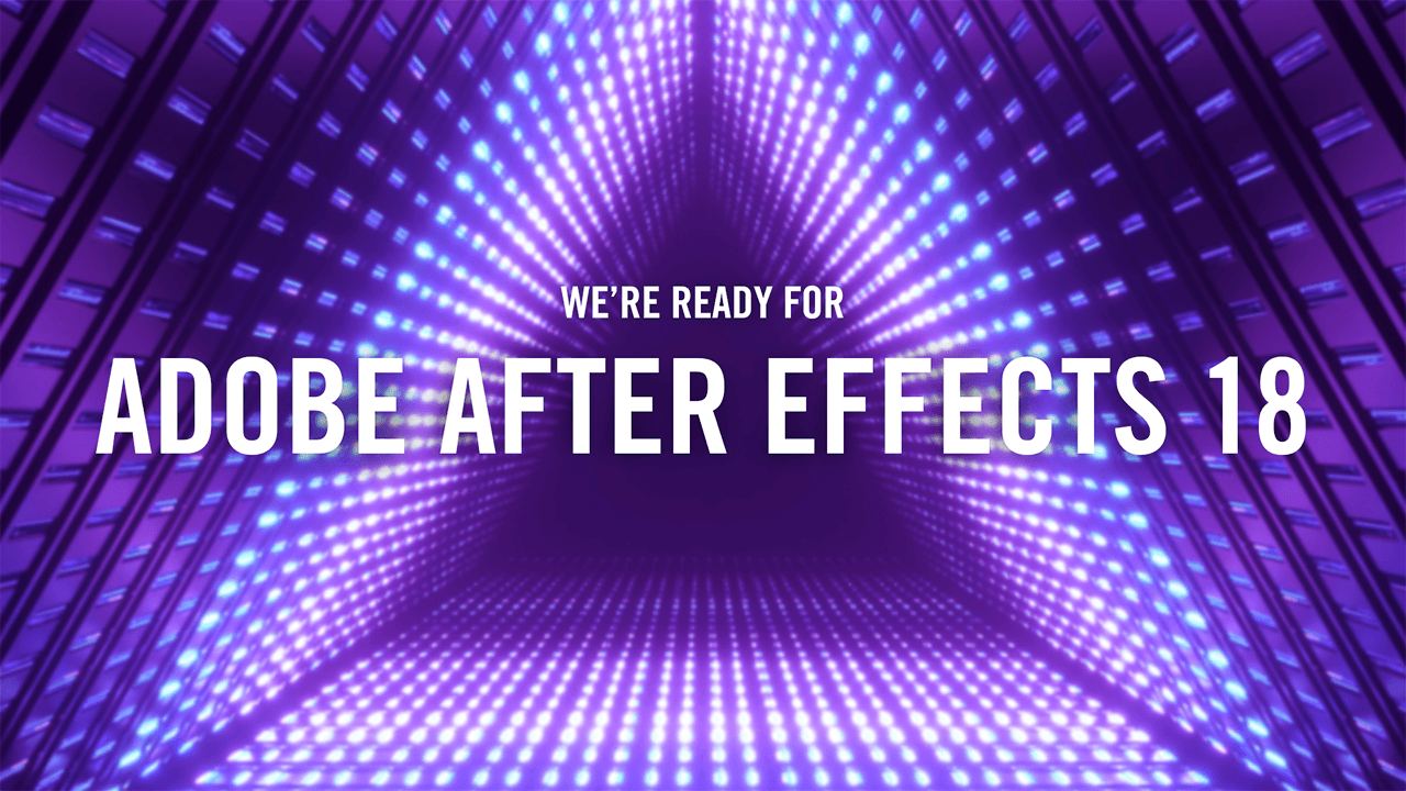News: Red Giant Ready for After Effects 18.0