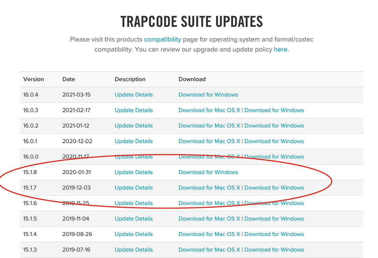 Trapcode Suite Updates