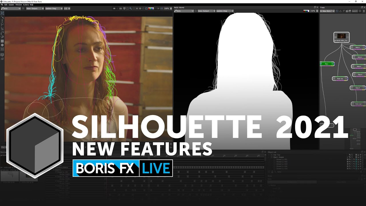 Boris FX Live: New Features in Silhouette 2021 + James Pina