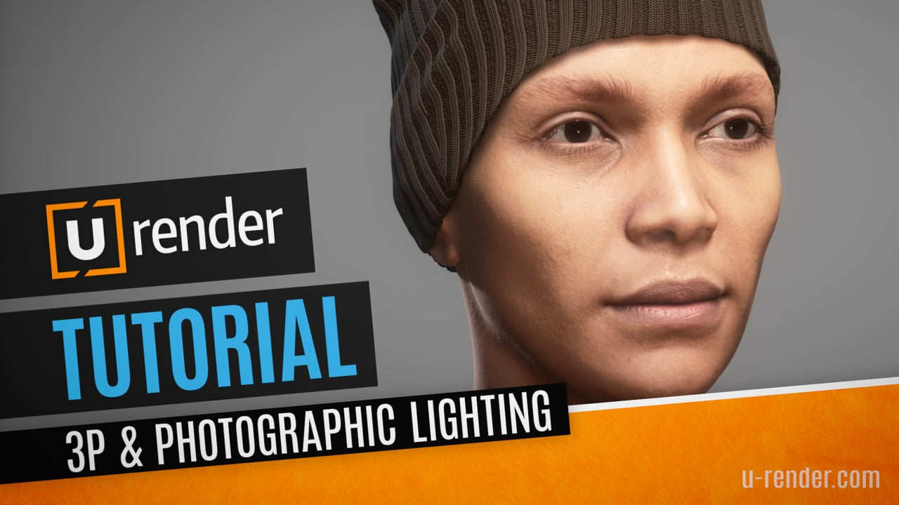 How to set up a 3-point photographic lighting - U-RENDER