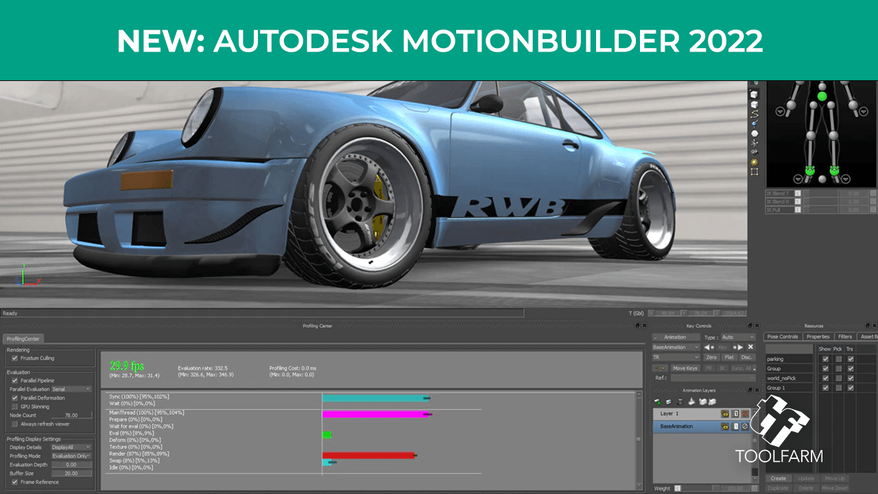 New: Autodesk MotionBuilder 2022 Now Available