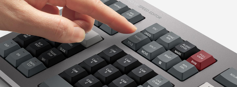 blackmagic speed editor function keys