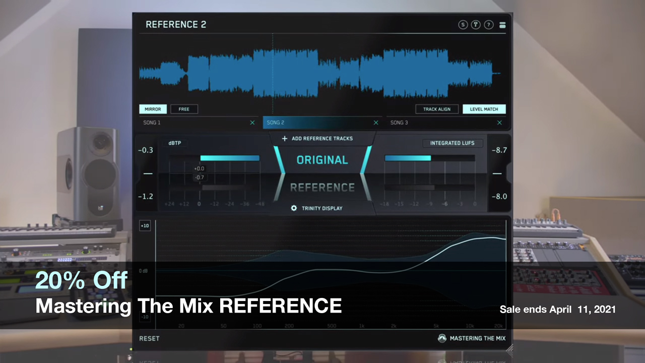 mastering the mix reference 20% off