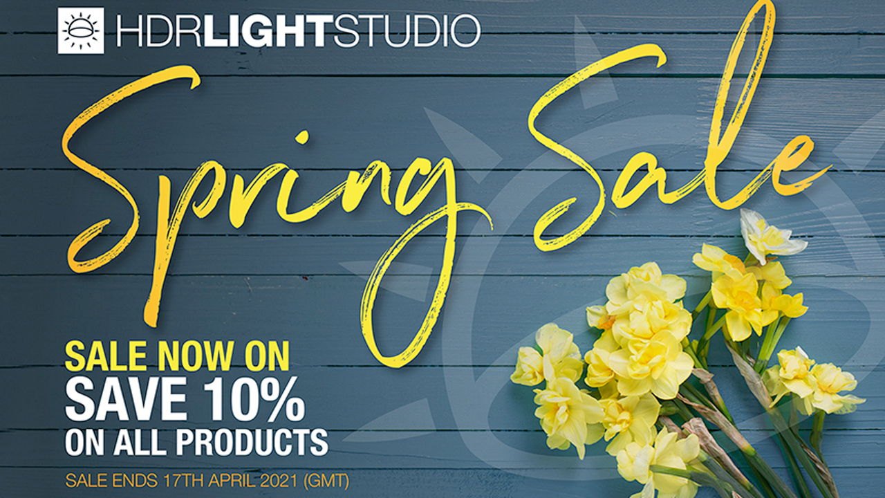 hdr light studio spring sale