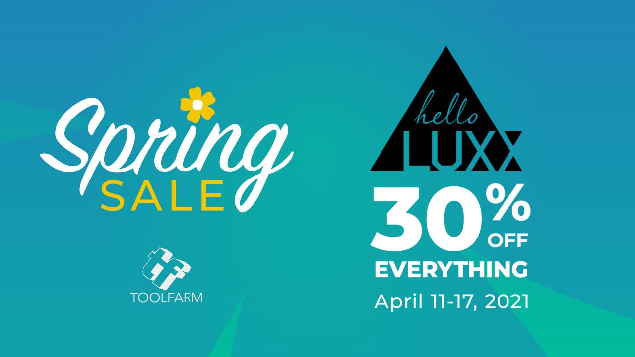 helloluxx spring sale
