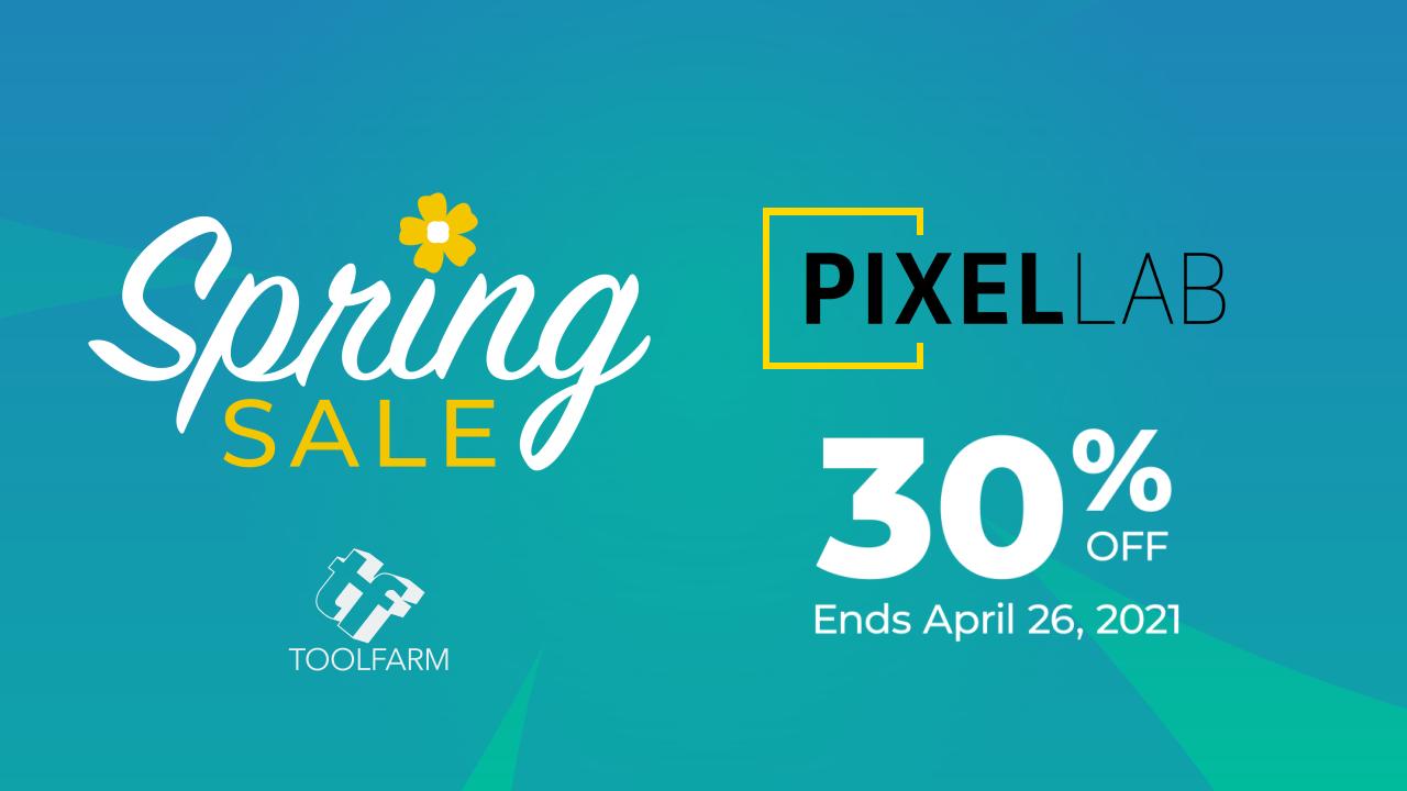 pixel lab spring sale
