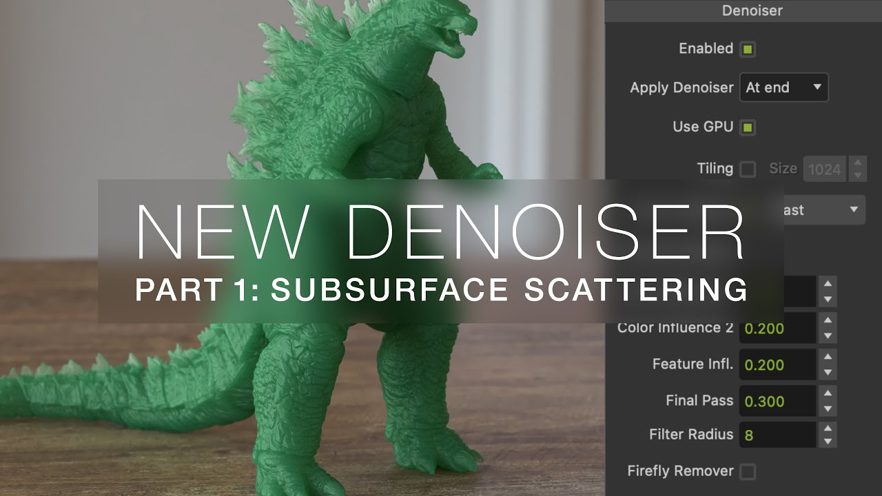 Maxwell 5.2 - New Denoiser is Kicking SSS