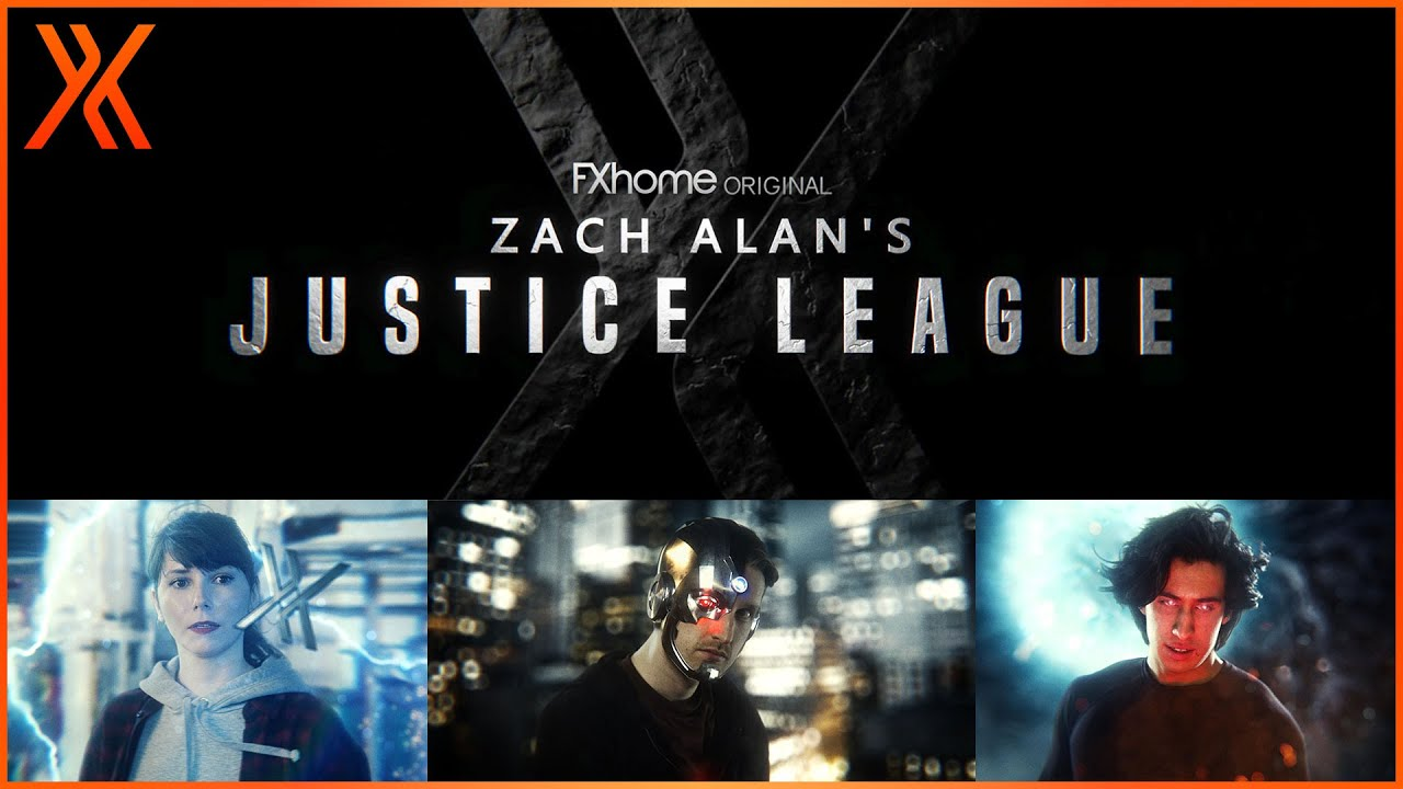 Justice League Title Sequence