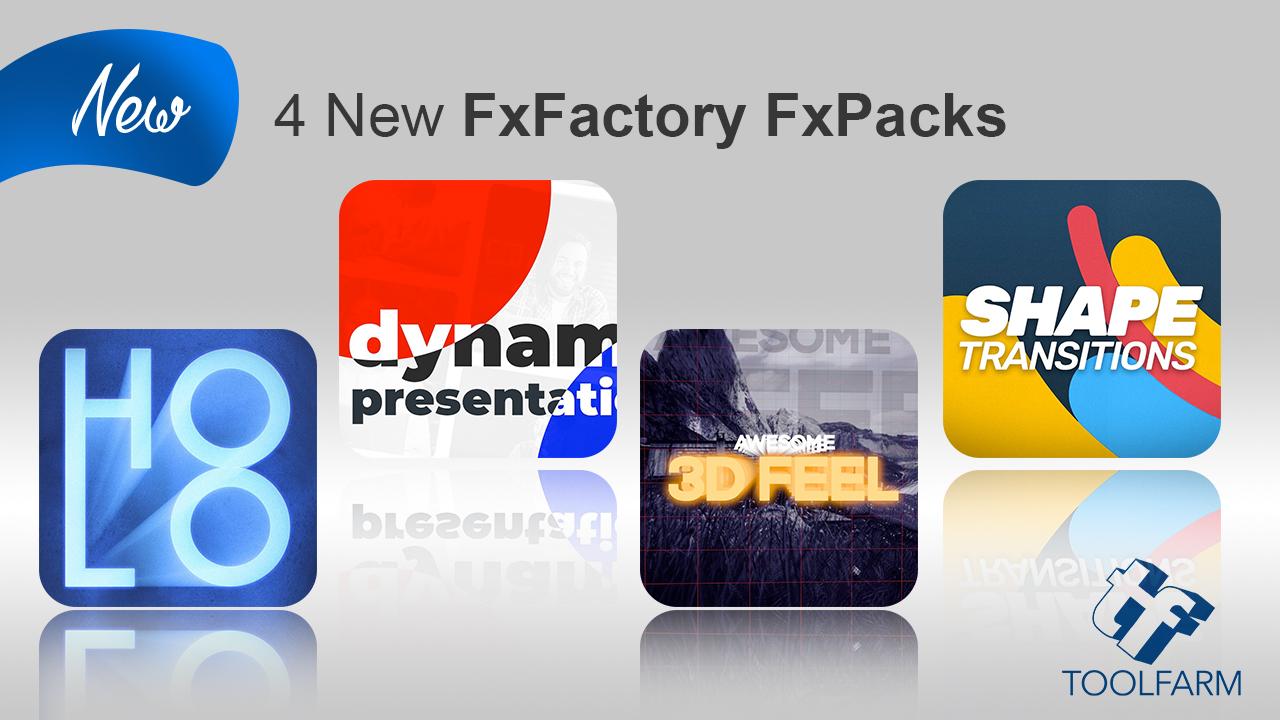 fxfactory 4 new packs