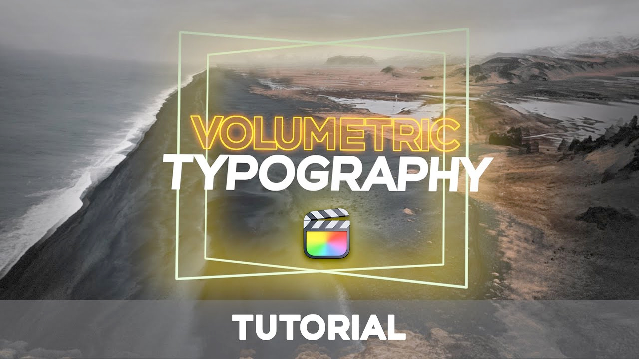 omotion volumetric typography tutorial
