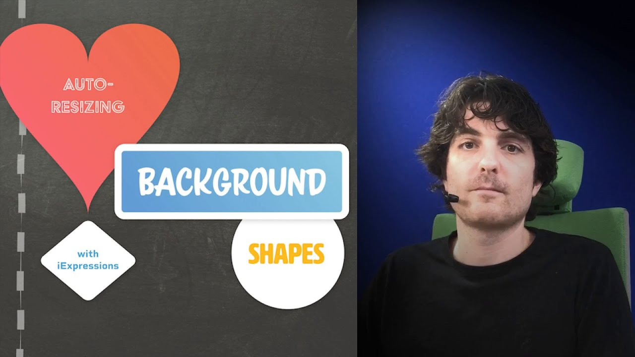 Auto-Resizing Background Shapes with iExpressions for AE