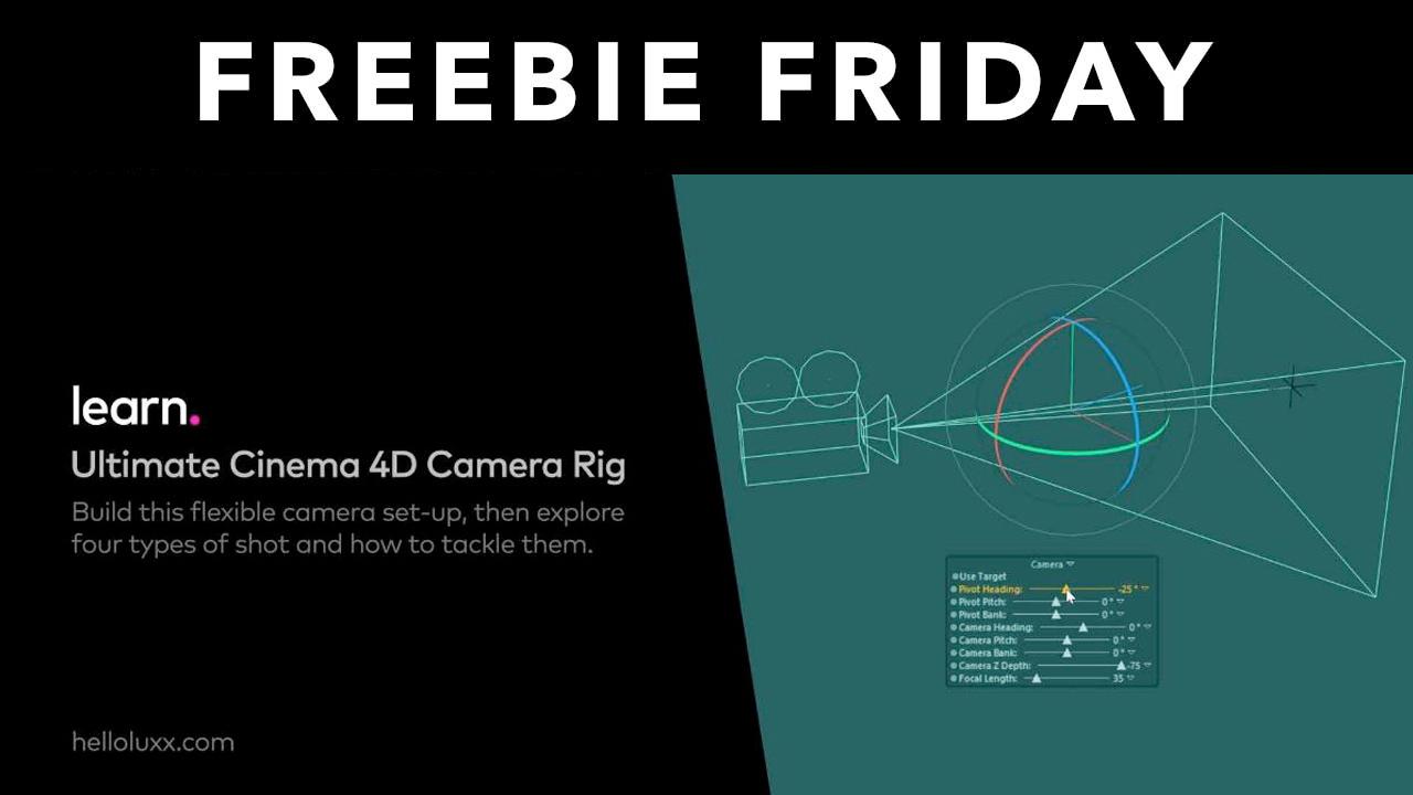 freebie helloluxx c4d camera rig training