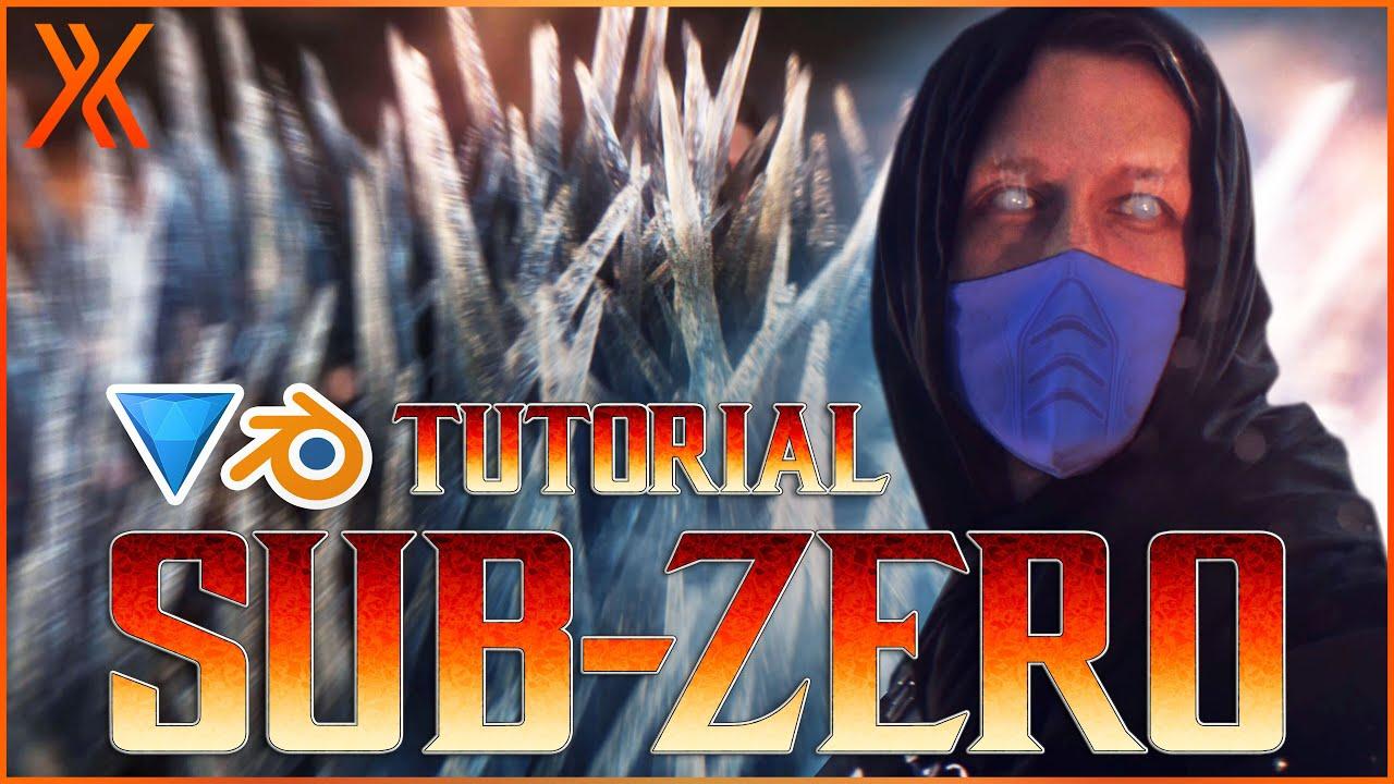 Mortal Kombat Hitfilm sub-zero ice