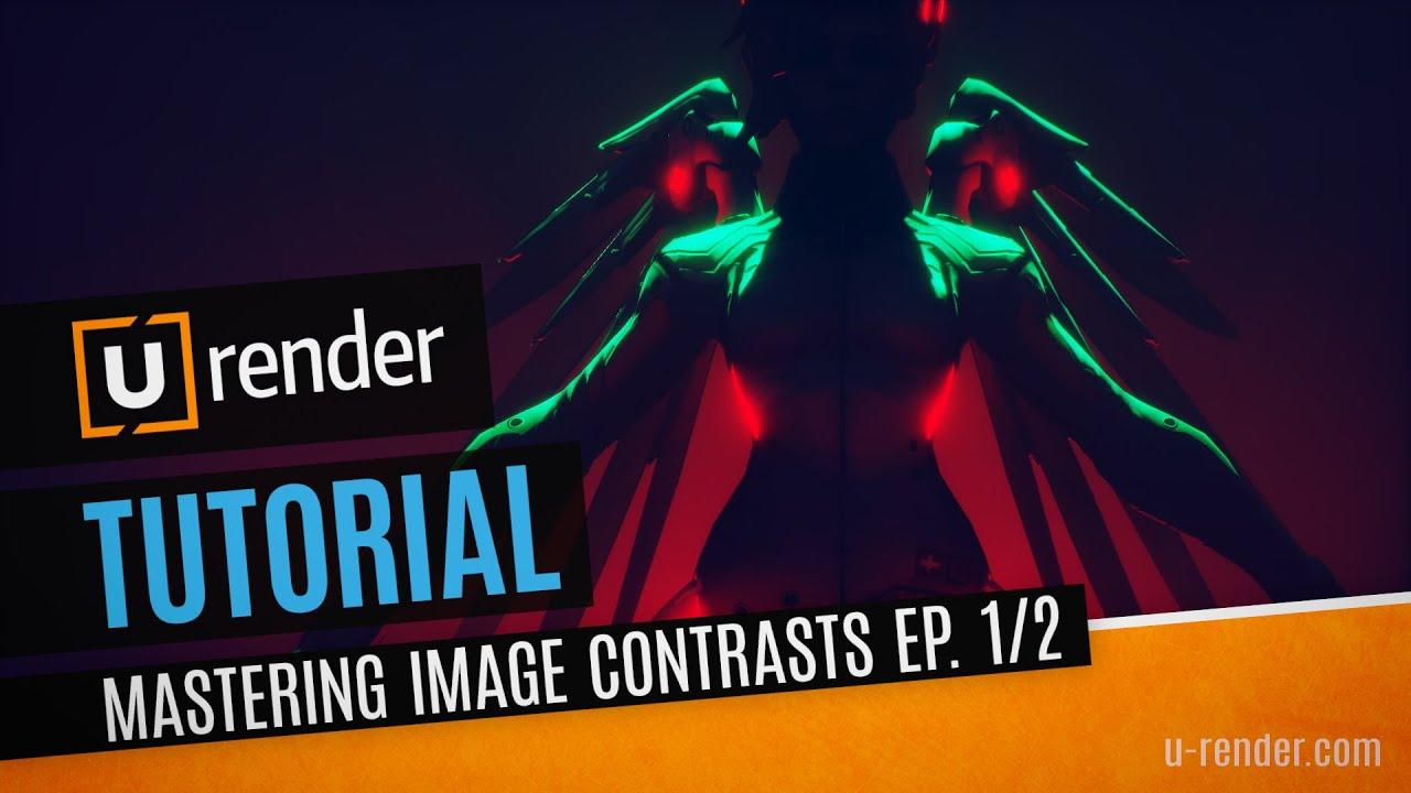 u-render image contrast series