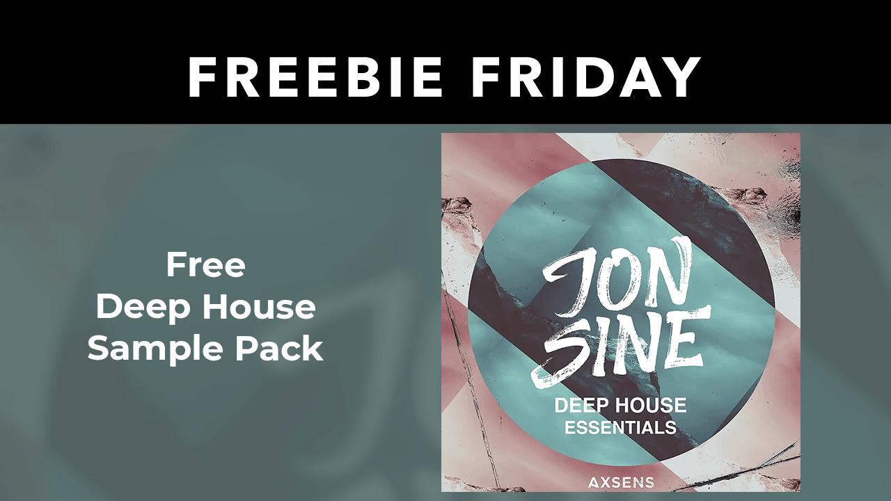 Freebie: Deep House Sample Pack from Jon Sine