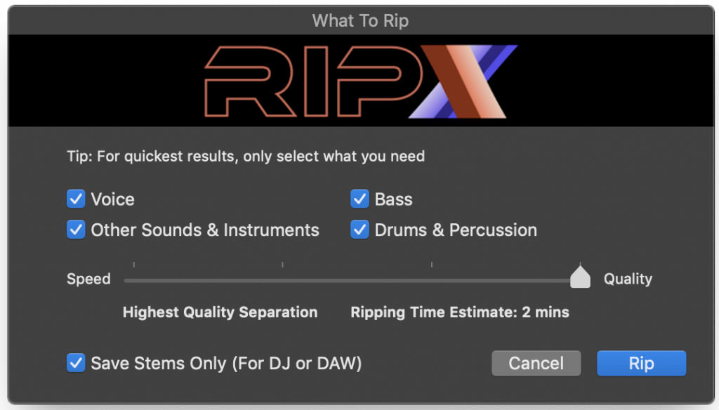 deep remix what to rip